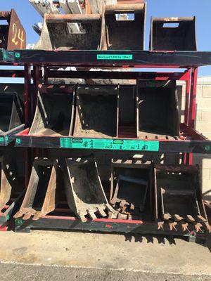 Mini excavator & backhoe buckets on sale!! for Sale in Long Beach, CA