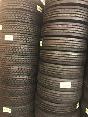 Semi Truck tires and trailer for Sale in Orlando, FL