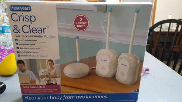 Baby audio monitors. Perfect to use so baby and mom/dad can sleep peacefully.