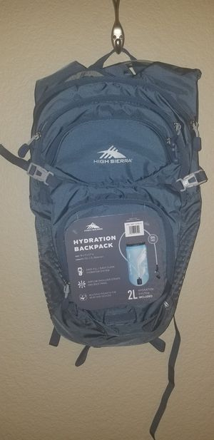 High Sierra hydration backpack with 2L water sack for Sale in Phoenix, AZ