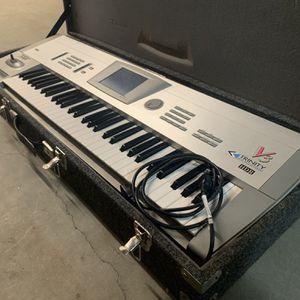 Korg Trinity V3 Midi Synthesizer Synth Keyboard + Flight Case for Sale in Baton Rouge, LA