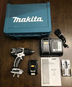 Makita 18v Drill with Accessories for Sale in Virginia Beach, VA