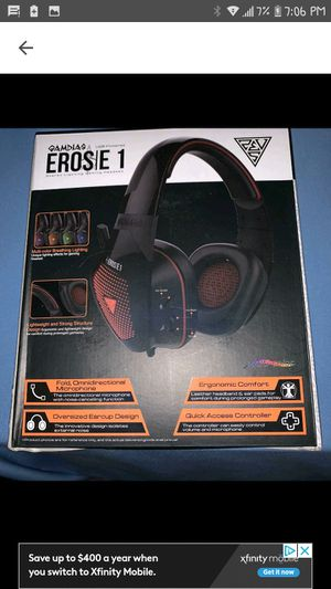 Gamdias Eros E1 USB Powered Stereo Lightning Gaming Headset Brand New in Sealed Box for Sale in Port Huron, MI