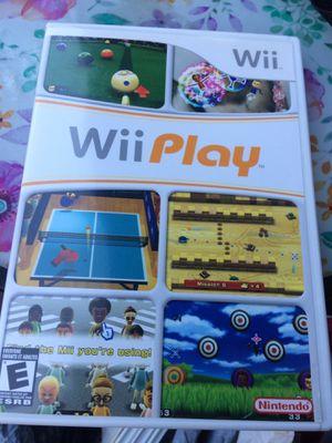 Nintendo Wii Play open box for Sale in Champaign, IL
