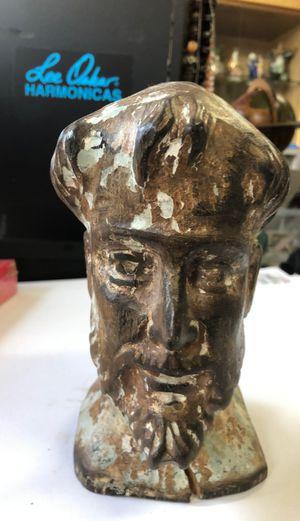 Antique wooden head for Sale in Des Plaines, IL