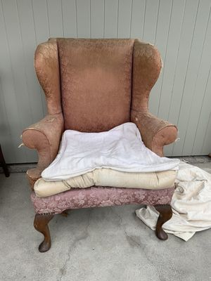 Free antique wing back chair for Sale in Dana Point, CA