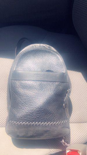 Coach Man bag or backpack for Sale in Atlanta, GA
