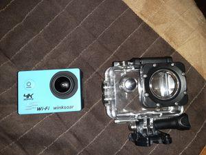 GOPRO 4K CAMERA WITH WATERPROOF CASE 40 OBO for Sale in Berenda, CA
