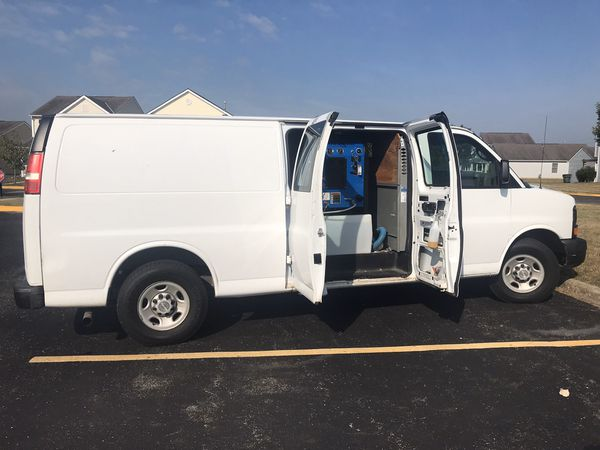 2007 Chevy express carpet cleaning van