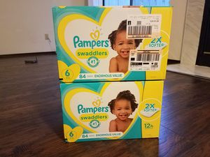 NRAND NEW! JUMBO PACK!! Pampers Swaddlers for Sale in Pinole, CA