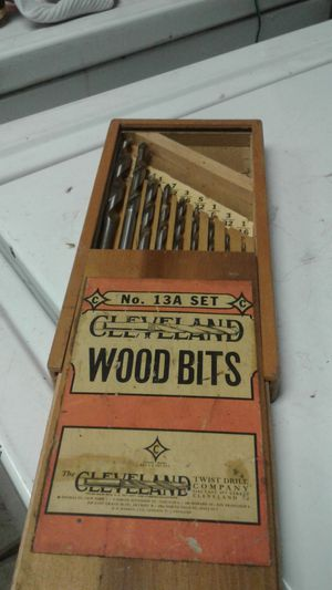 Cleveland wood bits for Sale in Manteca, CA