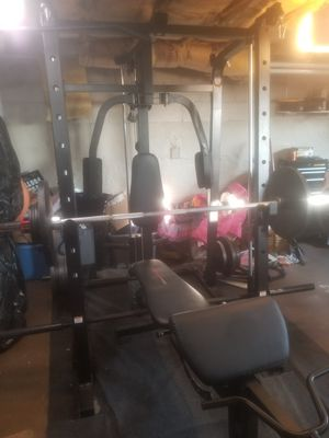 Home Gym, Workout, Weight Bench, Smith Machine for Sale in Clairton, PA