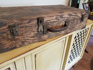 Rare wooden suitcase for Sale in Cary, NC