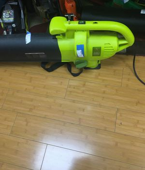 Sunjoe 3in1vacume leaf blower 10913-1 like new electric for Sale in West Palm Beach, FL