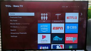 50 inch TCL Roku TV for Sale in San Francisco, CA