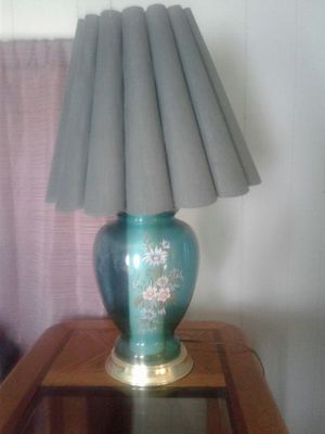 Green lamp for Sale in High Point, NC