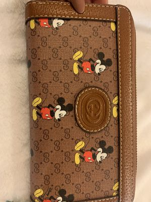 Mickey Mouse Gucci Wallet for Sale in Phoenix, AZ