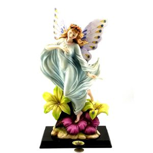 "De Capoli Collection Fairy with Lilly Flowers Statues Figurine 13 3/8"" tall for Sale in Avondale, AZ"