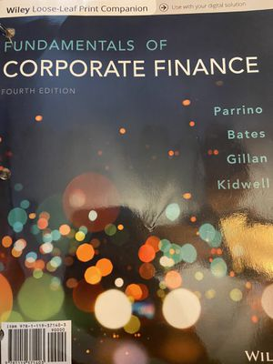 Fundamentals of corporate finance 4th edition w/ registration code for Sale in Chandler, AZ