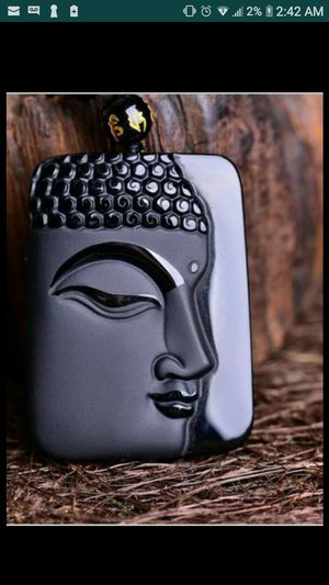 Lot 2 pcs obsidian Buddha pendant and gemstone beacelet lot for Sale in Richmond, CA