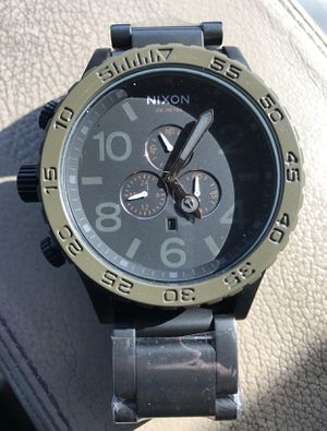 New Authentic Nixon Watch 51-30 Black/Green A083-1530 for Sale in Ashburn, VA