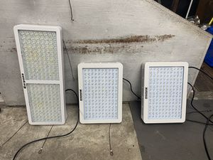 I have two 1500 W Highgrove LED full spectrum grow lights and a 2000 W garpsen for Sale in Everett, WA