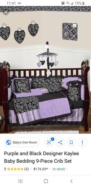 Sweet Jojo Designs Kaylee Crib Toddler Bedding Set for Sale in Vancouver, WA
