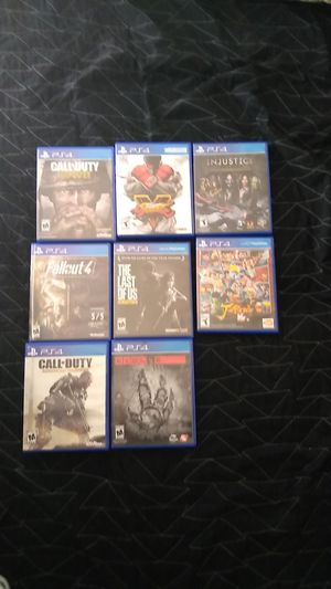 PlayStation 4 games for Sale in Land O Lakes, FL