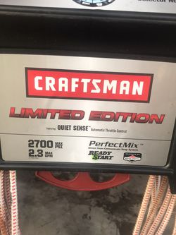 Craftsman Pressure Washer (Serviced) for Sale in Orlando,  FL
