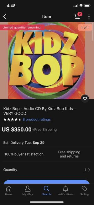 Kids bop for Sale in Wenatchee, WA