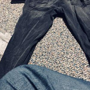 Super skinny Black/dark grey jeans size 36/32 for Sale in US
