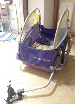 Burley bike trailer cargo trailer, fits any bicycle for Sale in Oakland, CA