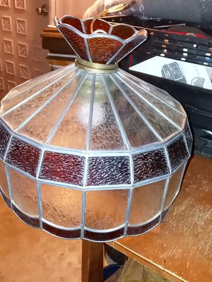 VINTAGE STAINED GLASS CHANDELIER for Sale in Sun City, AZ