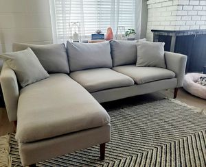 Modern gray sectional for Sale in Sacramento, CA