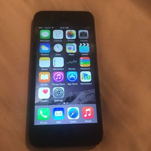 32gb Sprint iPhone 5 for Sale in Austin, TX