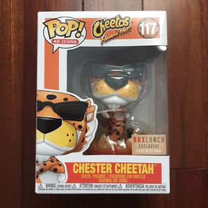 chester cheetah funko pop box lunch exclusive for Sale in Ellicott City, MD