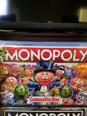 Monopoly Garbage Pail Kids - Board Game for Sale in Las Vegas, NV