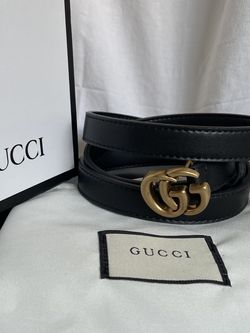 Gucci Monogrammed GG Belt (35-37inches size L) for Sale in Diamond Bar,  CA