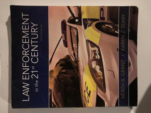 Law Enforcement Textbook USED for Sale in Milford, PA