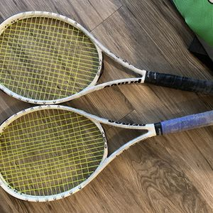 Prince Evo3 White100 Tennis rackets and Backpack Bag for Sale in San Antonio, TX