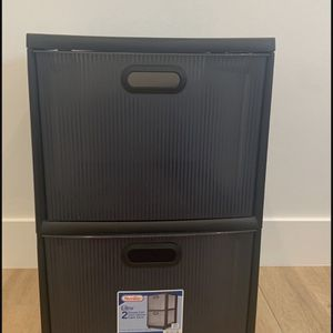 New Plastic Bin With Drawers for Sale in Cypress, CA
