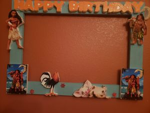 Moana picture frame brand new for Sale in Victorville, CA