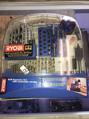 Ryobi Drill Accessory Kit for Sale in Ashtabula, OH