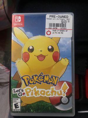 Let's Go! Pikachu for Sale in Philadelphia, PA