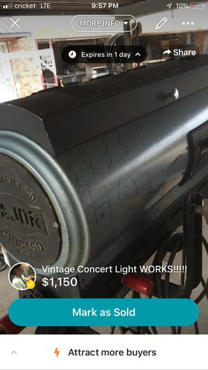 Working Vintage Concert Light! for Sale in Lavon, TX