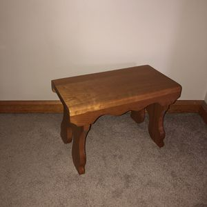 Handmade Solid Cherry Stepstool for Sale in Baden, PA