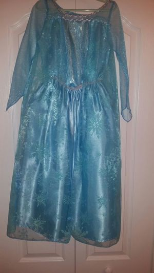 Handmaid Elsa costume Girls size 6 medium with accessories for Sale in DeBary, FL