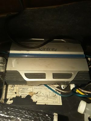 Infinity 1300 watt amplifier for Sale in Bastrop, TX
