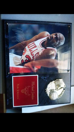 Michael Jordan signed picture for Sale in Potomac, MD