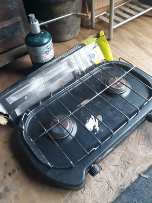 Camping cook stove and grill burners new for Sale in Blacksburg, VA